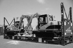 挖掘机框架箱服务