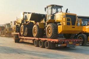 装载机拖车服务
