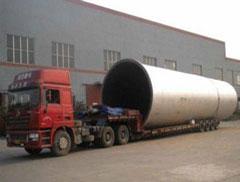 大型物件运输系列#超长蒸压釜#