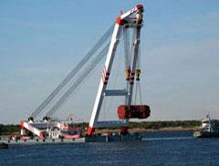 青岛淳远物流顺利完成大型发电机(HL1600GF)海运操作