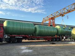 大型钢罐运输