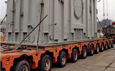 大型变压器青岛淳远大件物流运输案例