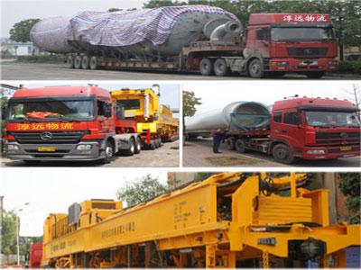 淳远物流大件运输案例特种设备运输案例