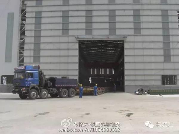实力抓拍500吨级大件设备物流全过程