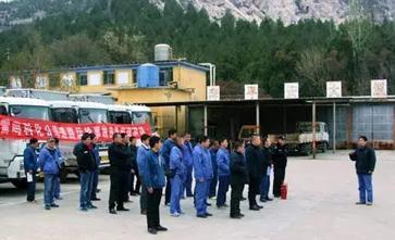 青岛大件运输公司举行救援应急排练