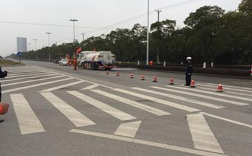 青岛大件公司:相城区运输局组织开展公路抢险应急演练