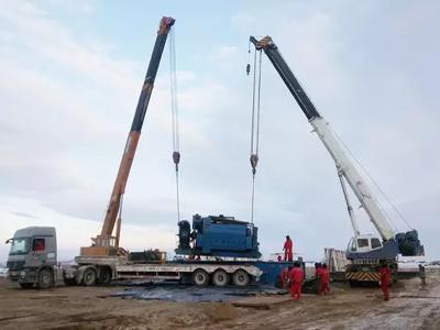 【大件运输公司】青岛吊装搬运设备运输公司