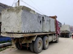 青岛大型石头运输公司|青岛景观石运输