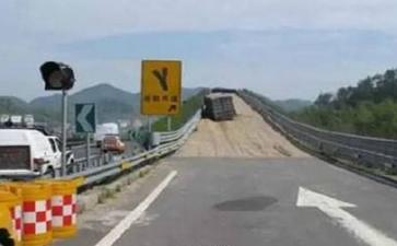 青岛大件运输公司:高速路上意外遇到路标指示谁的错
