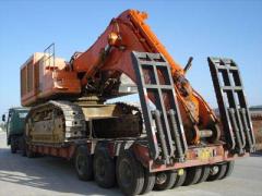 青岛钩机运输公司|青岛挖掘机运输厂家|挖掘机运输报价