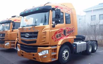 大件运输牵引车:汉马H7介绍