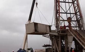 大件设备运输7天完成12口井搬运任务