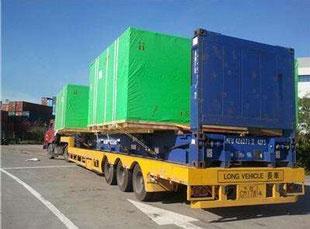 框架箱长途运输