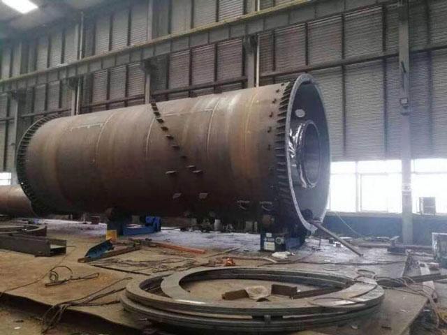 煤电设备机组吊装