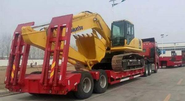 挖掘机运输