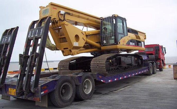 15吨-40吨挖掘机拖车