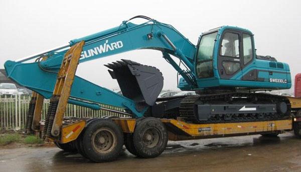10吨-35吨挖掘机拖车