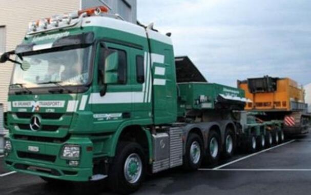 大件货物运输对于我国发展的重要性