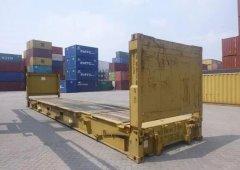 使用框架箱运输的作用及优势说明