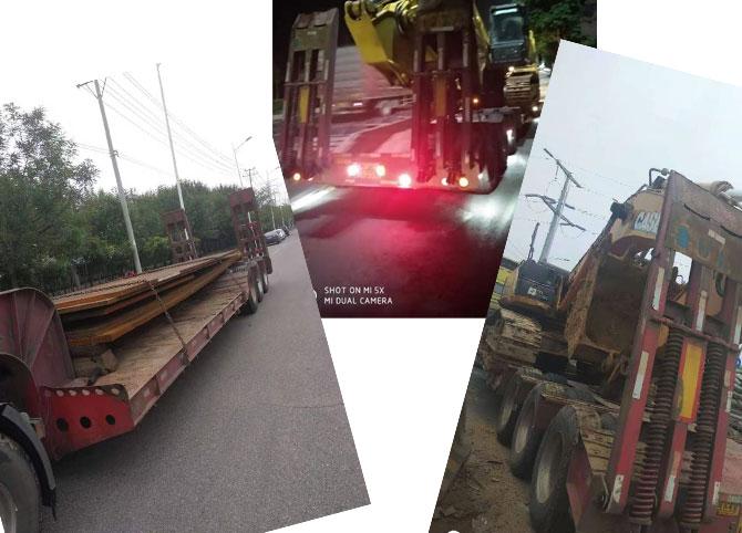 工程机械运输之挖掘机运输篇