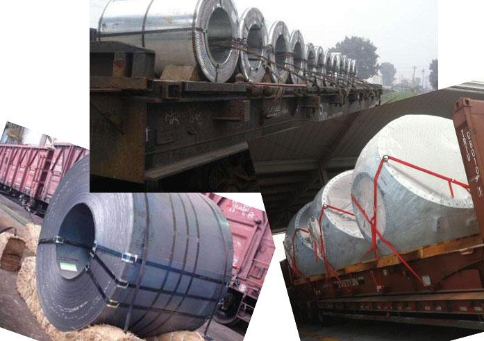 钢卷运输案例(陆运)