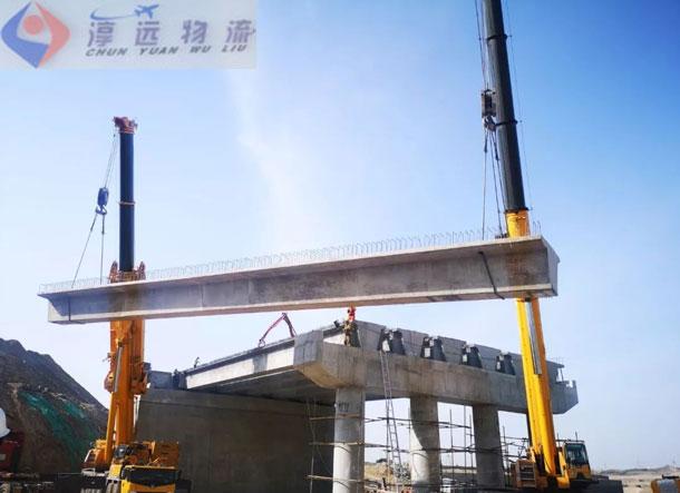 大型桥梁吊装+运输服务